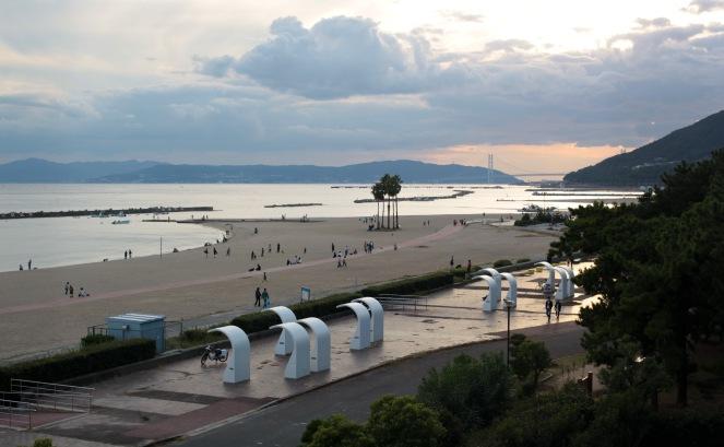 view_of_suma_beach_kobe_japan